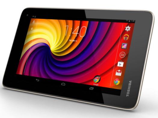 Toshiba new tablet