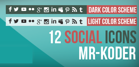 Cool Social Icons Widget Plugin