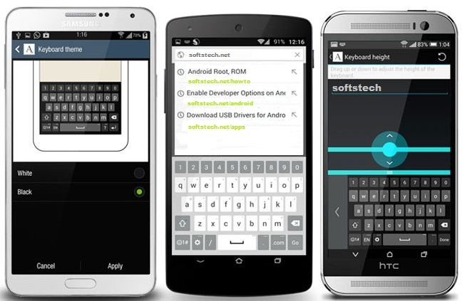 Download and Install the LG G3 Keyboard App on your Android