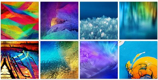 Galaxy Note 4 Stock Wallpapers
