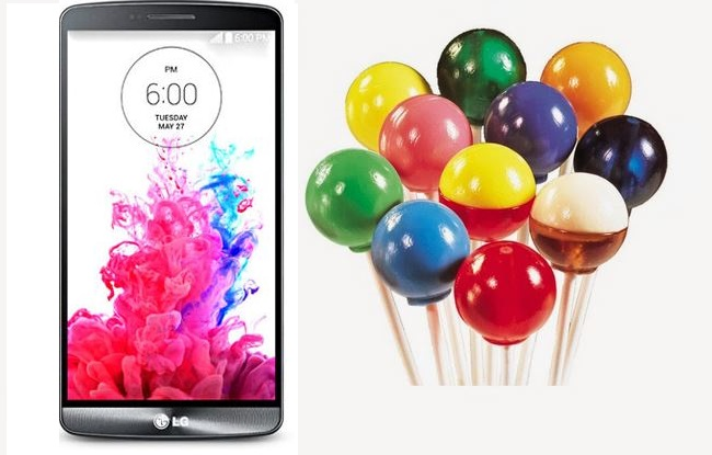 LG G3 Update Android 5.0 Lollipop