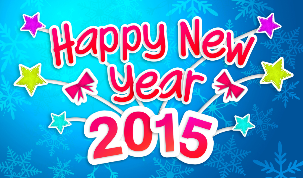 Happy New Year 2015 Stars