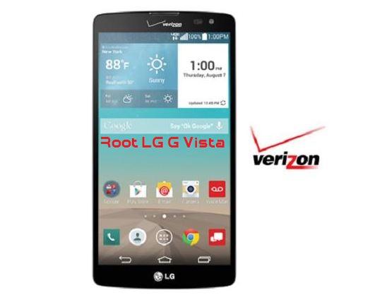 Root LG G Vista