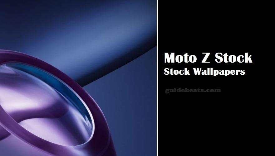 Lenovo Moto Z Stock Wallpapers