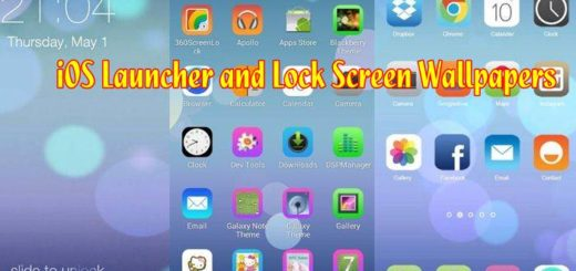 iOS Launcher and Lock Screen Wallpapers on your Android Devices