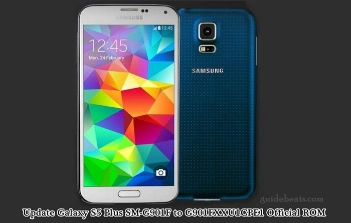 Update Galaxy S5 Plus SM-G901F to Android 6.0.1 Marshmallow