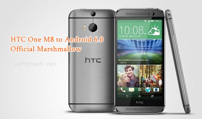 Update HTC One M8 to Android 6.0 Official Marshmallow OTA