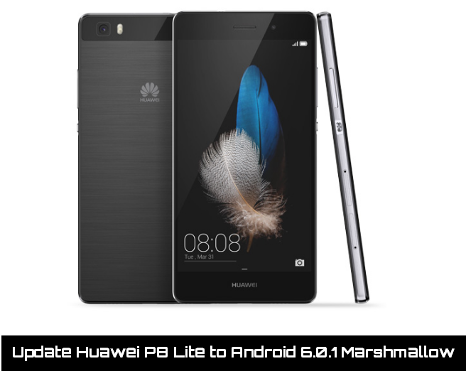 Update Huawei P8 Lite to Android 6.0.1 Marshmallow