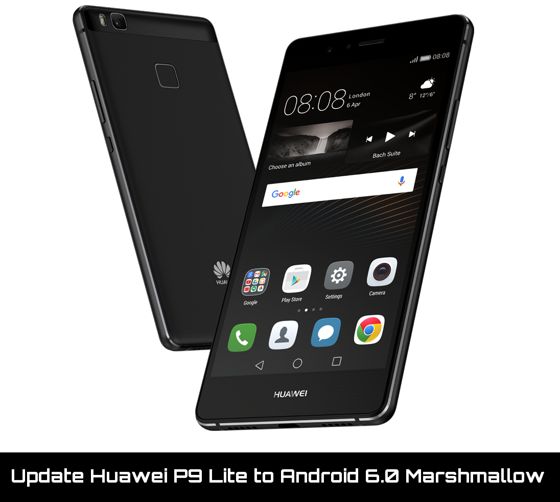 Update Huawei P9 Lite to Android 6.0 Marshmallow