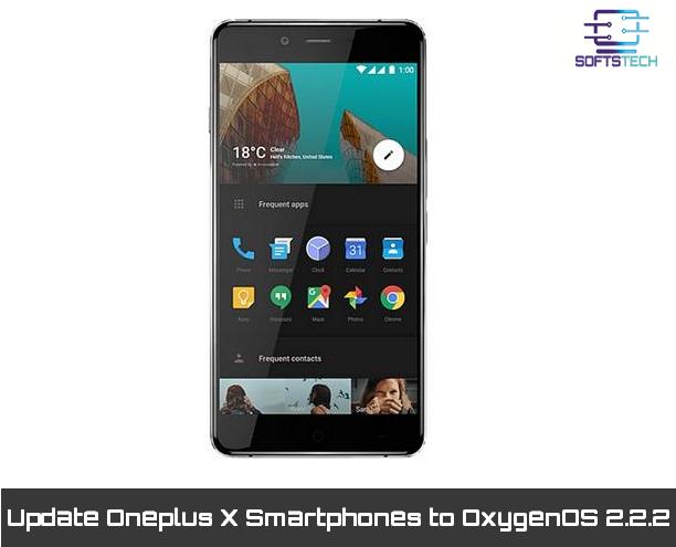 Update Oneplus X Smartphones to OxygenOS 2.2.2