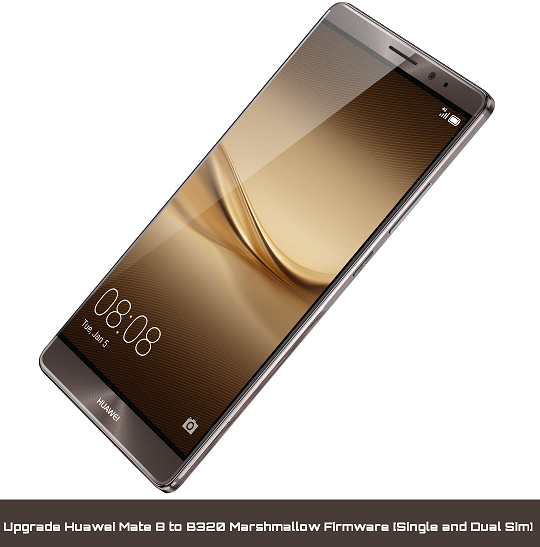 Upgrade Huawei Mate 8 to Marshmallow