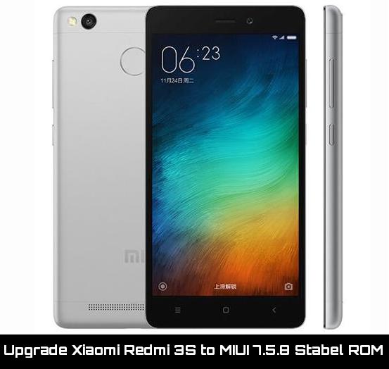 update Xiaomi Redmi 3s