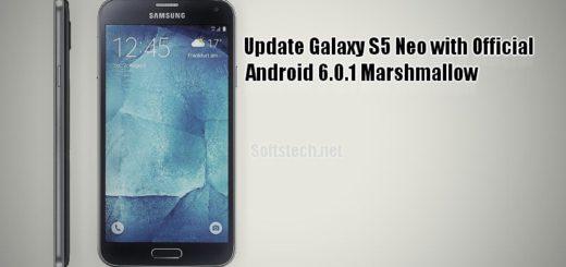 Install Galaxy S5 Neo Official Marshmallow G903MUBU1BPD3