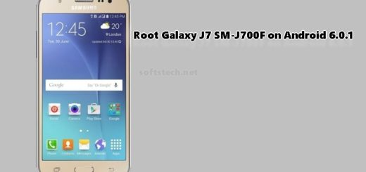 Root Galaxy J7 SM-J700F on Android 6.0.1 Marshmallow