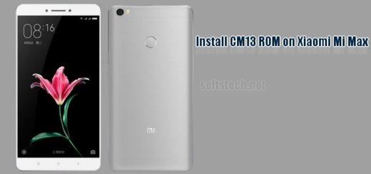 Install Xiaomi Mi Max CM13 ROM