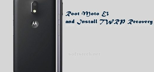 Root Moto E3 and Install TWRP Custom Recovery