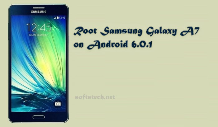 Root Samsung Galaxy A7 SM-A710F on Android 6.0.1