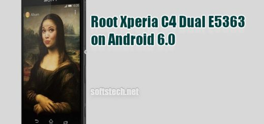 Root Xperia C4 Dual E5363 on Android 6.0 Marshmallow