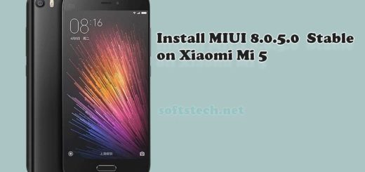 Install Mi 5 MIUI 8.0.5.0 Global Stable ROM