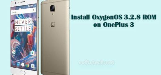 Install OnePlus 3 OxygenOS 3.2.8 ROM