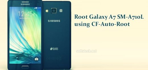 Root Galaxy A7 SM-A710L using CF-Auto-Root