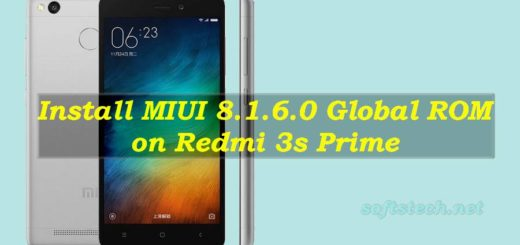 Install Redmi 3s Prime MIUI 8.1.6.0 Global Stable ROM Manually