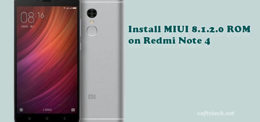 Install Redmi Note 4 MIUI 8.1.2.0 Global Stable ROM