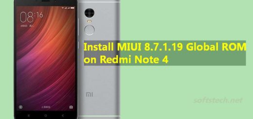 Install Redmi Note 4 MIUI 8.7.1.19 Global Stable ROM Manually