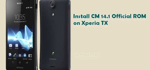 Install Xperia TX CM 14.1 Official ROM