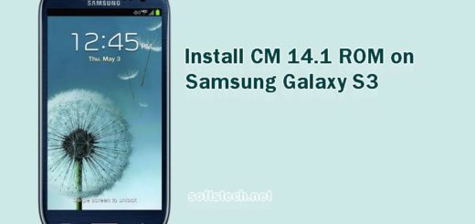 Install Samsung Galaxy S3 CM 14.1 Custom ROM