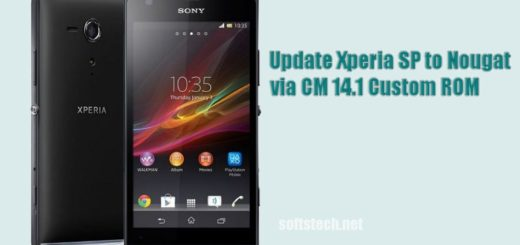 Update Xperia SP to Android 7.1 Nougat