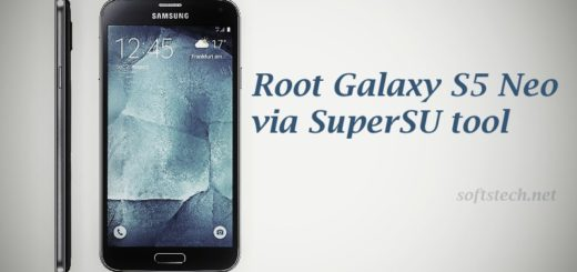 Root Galaxy S5 Neo SM-G903W via SuperSU