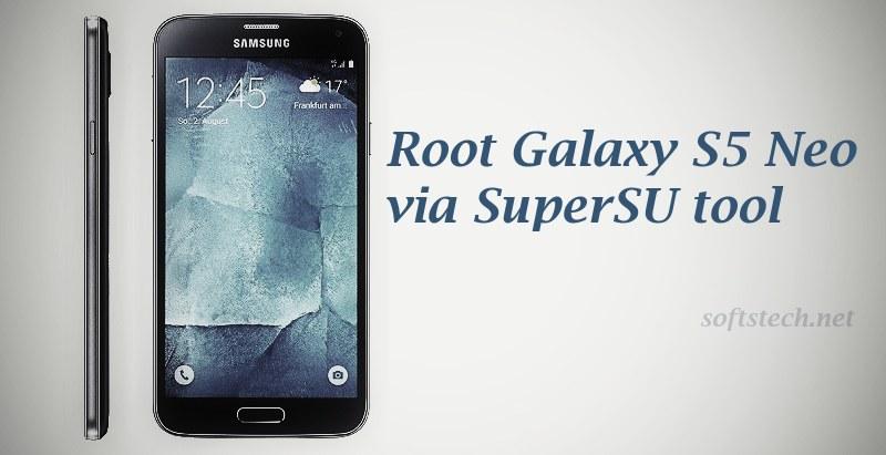 Root Galaxy S5 Neo SM-G903W via SuperSU