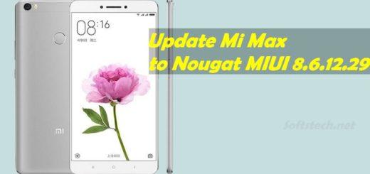 Install MIUI 8.6.12.29 Android Nougat on Mi Max / Mi Max Prime