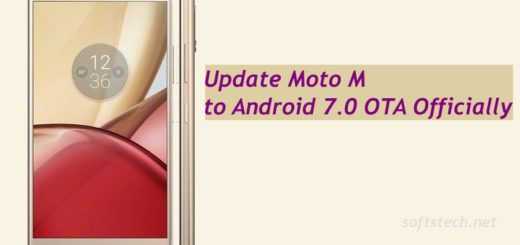 Update Moto M to Android 7.0 Nougat OTA Officially