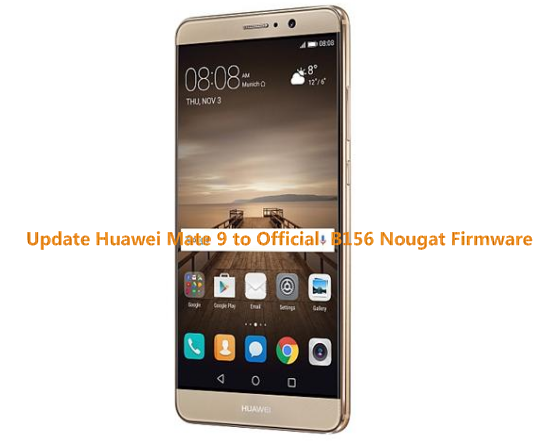 how to get huawei mate 9 updates