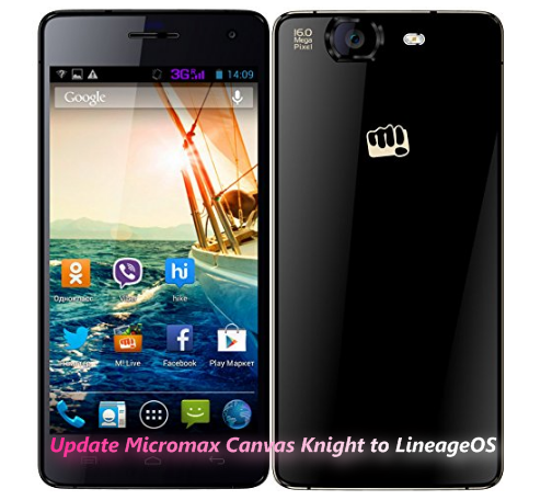 How to Update Micromax Canvas Knight to Android Marshmallow
