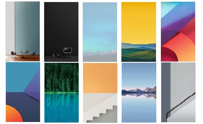 Download LG G6 Exclusive Stock Wallpapers in HD Quality