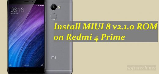 Install MIUI 8 v2.1.0 Fastboot/ Recovery ROM on Redmi 4 Prime