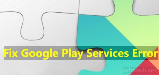 Fix Google Play Services Error