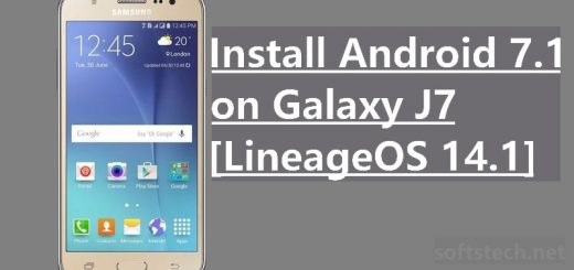 Install Android 7.1 Nougat on Galaxy J7 [via LineageOS 14.1]