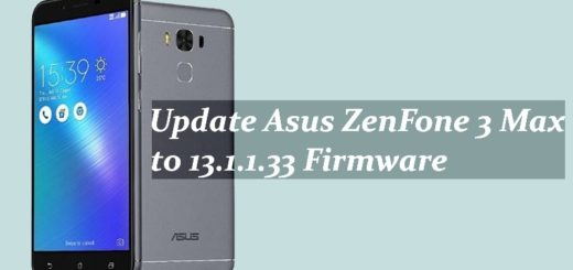 Update Asus ZenFone 3 Max to 13.1.1.33 Firmware