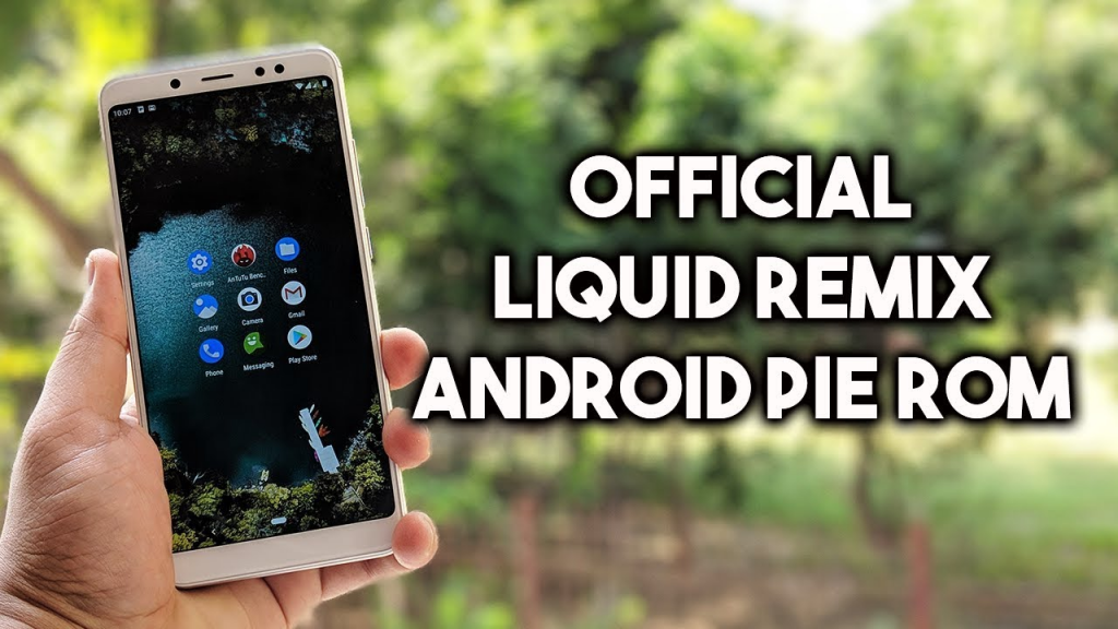 Install Liquid Remix ROM on Xiaomi Redmi 5